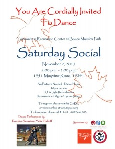 Saturday Social 11/13 revised